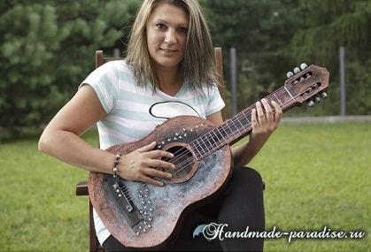 Гитара из картона. Мастер-класс