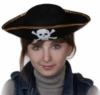 Пиратская треуголка своими руками: выкройки с фото и видео