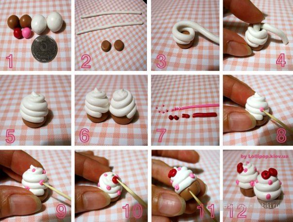 Cách làm thức ăn cho con rối từ plasticine với hình ảnh và video