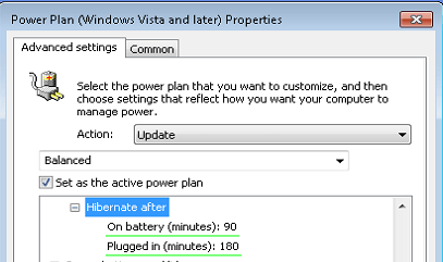 Setting Power Options with Group Policy