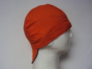 All Blaze Orange Beanie Welding Cap