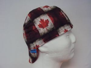 Canadian Flag Welders Cap