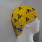 Don't Tread On Me Yellow Welding Cap
