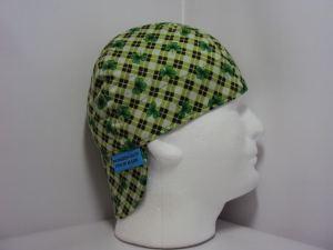 Irish Green welders cap