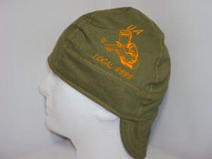 Embroidered UA Union And Local Number Welders Cap