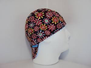 Black Crazy Daisy Welding Hats