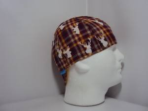 Plaid Buck Welding Cap
