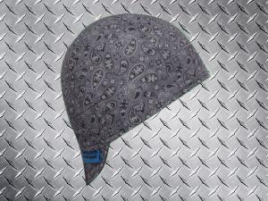 Classic Grey Bandana Welding Cap