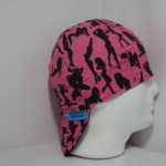 Pink Silhouettes Welding Cap ©