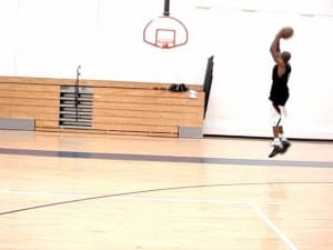 crossover behind back shot fake jumper dre baldwin