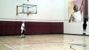 3pt right wing shooting ladder dre baldwin