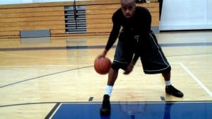 Pound-Snatch Triangle Dribbling Drill - Dre Baldwin