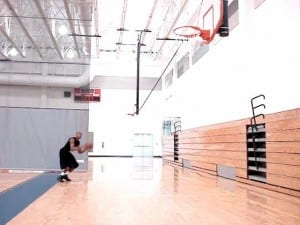 Shooting Guard Catch & Shoot From Baseline & Middle 3pt Drill - Dre Baldwin
