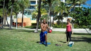 Full Off-Court #3: Knee Stability/Core Strength/Hip Range-Of-Motion Workout W/ Maria - Dre Baldwin