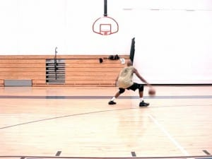 Low-Dribble Moves - Quick Crossover, Double Behind-Back Pullup Jumpshots - Dre Baldwin