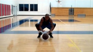 Crossover Behind-Back Lateral Slide Ball Handling Drill - Dre Baldwin