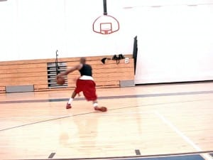 Retreat Dribble, Hands-Up Move for Left Hand Finish Pt. 2 - Dre Baldwin