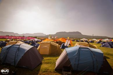 The camping experience at EVC is something you should never miss out on!