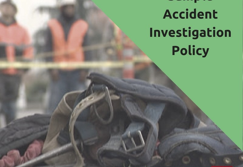 Sample Accident Investigation Program