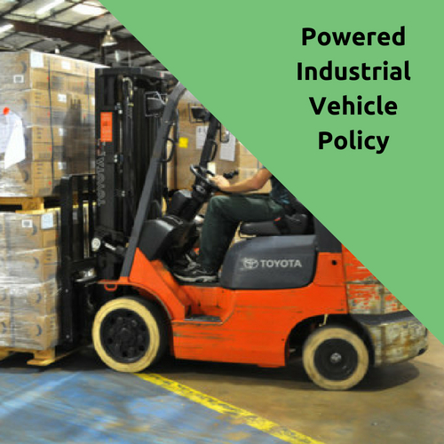 Powered Industrial Vehicle Policy