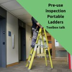 portable ladder pre-use inspection