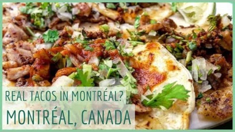 🇨🇦 SEXY MEXICAN Suadero & Chorizo AUTHENTIC TACOS in MONTRÉAL?  TACO ORGASM in CANADA!