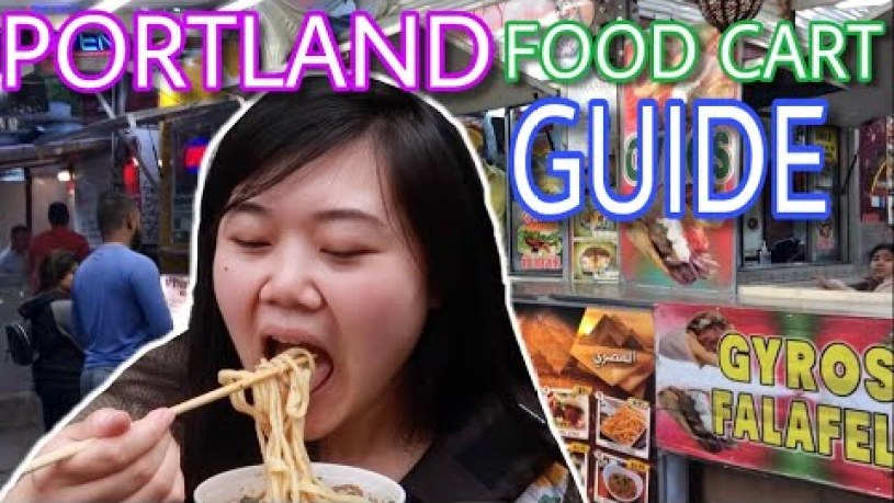 ULTIMATE Portland Food Cart Tour: Noodles, Paella, and more (Portland Food Guide)