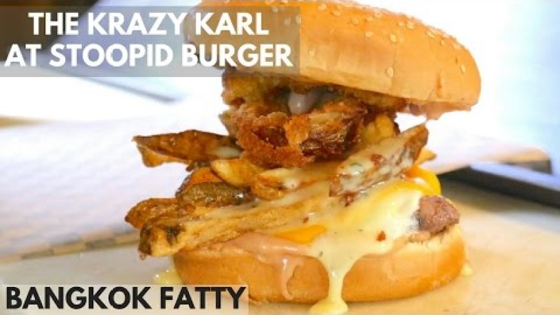 Portland Street Food: The Krazy Karl at Stoopid Burger!