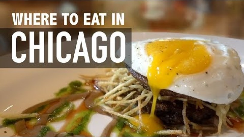 7 PLACES TO EAT IN CHICAGO