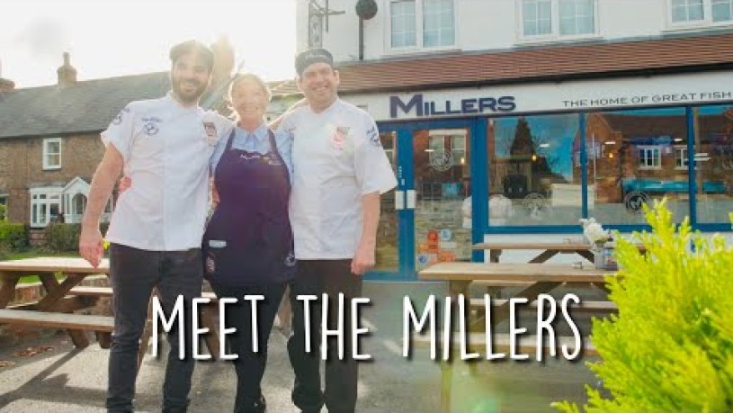 Millers Fish and Chips - Meet The UK's Best Fish and Chip Shop 2018
