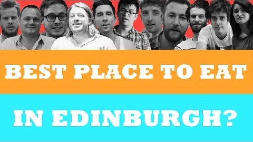 Where Is The Best Place To Eat In Edinburgh?