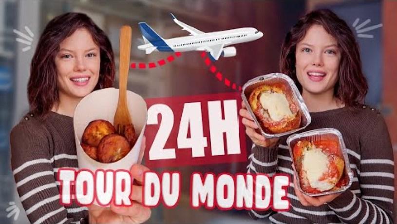 TOUR DU MONDE CULINAIRE EN 24H (Taiwan, Côte d'Ivoire, Turquie, Italie, Chine...STREET FOOD)