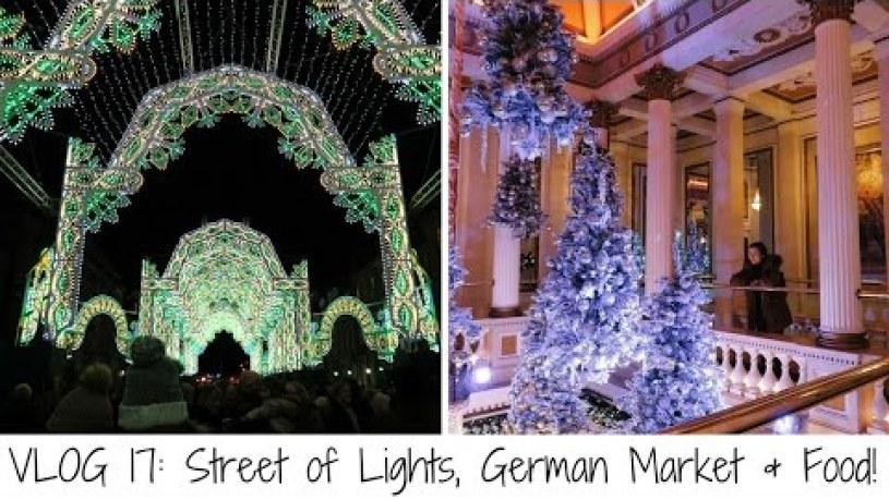 17: Christmas in Edinburgh: Street of Lights, German Market & Food!