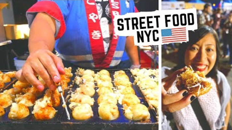 Best NEW YORK CITY STREET FOOD at QUEENS NIGHT MARKET | Street food from ALL OVER THE WORLD!