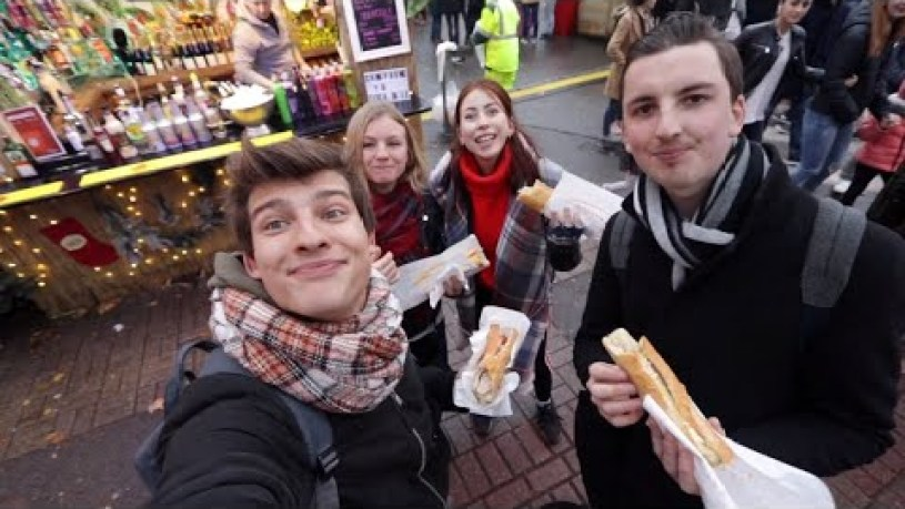 XMAS FOOD & PROTESTS (LILLE)| LOVE TO WANDER #6