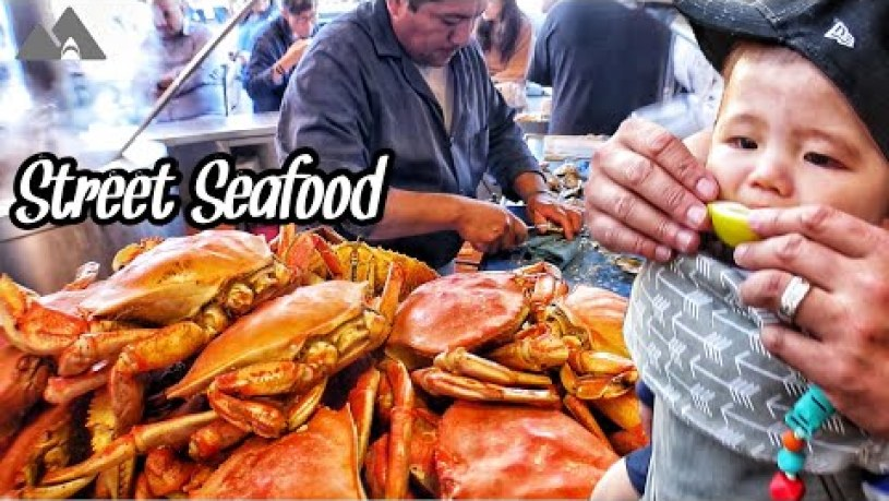 Get YOUR Street Food at the Wharf (Fisherman's Wharf)