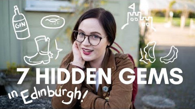 7 HIDDEN GEMS in EDINBURGH! Stuff to do and things to eat!