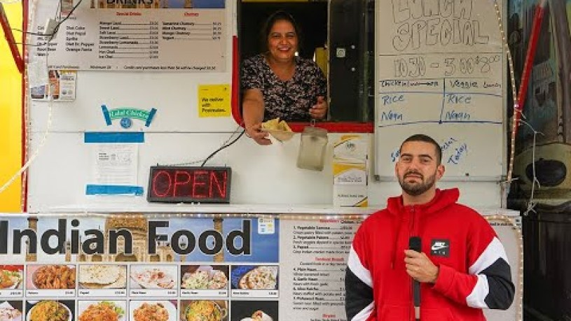 Portland's Best North Indian Food Cart? #TakeOutTuesdy- New Taste of India (SW 4th and College St.)