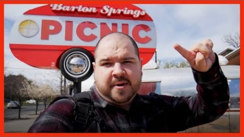 Best food truck park - Barton Springs Picnic #foodtrucks #austin #texas