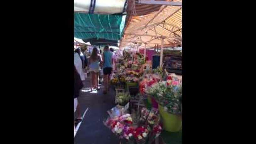 Sennett Yi - flower market in Nice, France❤️