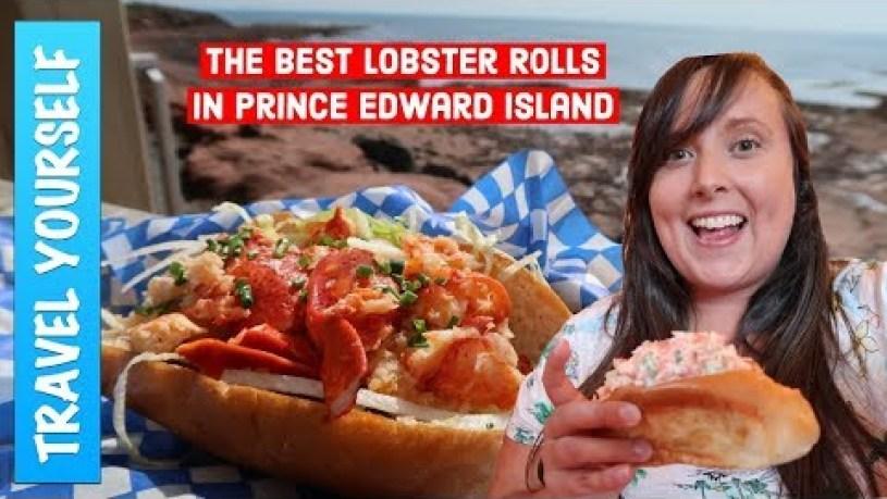 BEST lobster rolls in Prince Edward Island