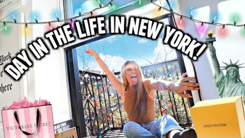 My Perfect Day In NEW YORK CITY! *food, broadway & shopping*