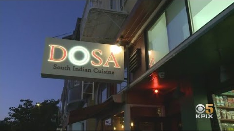 Popular SF Restaurant DOSA Closes After 15-Year Run In The Mission