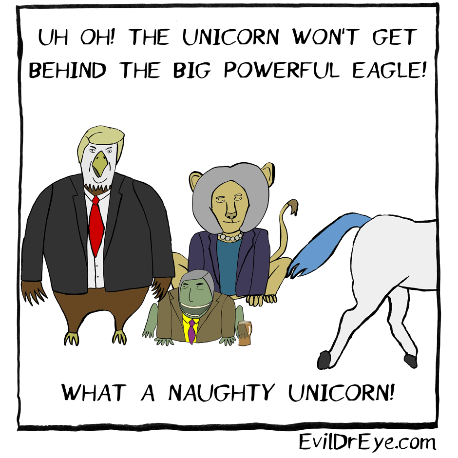 Naughty Unicorn – Eagle