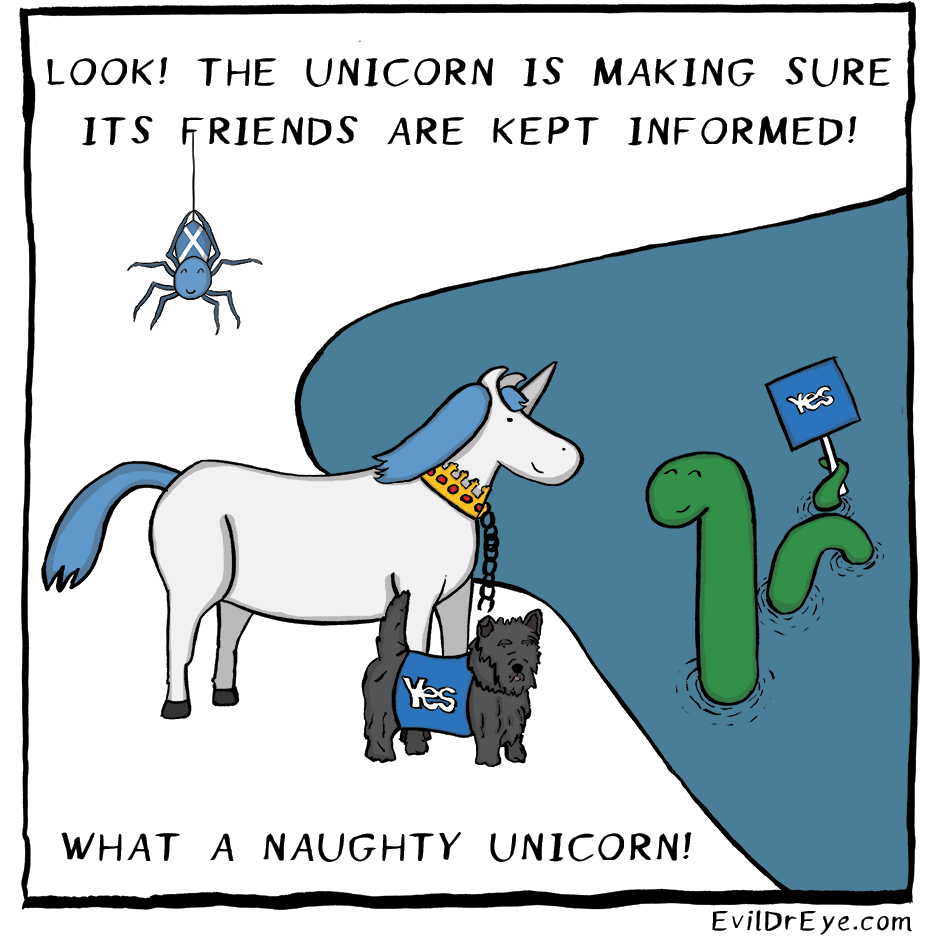 Naughty Unicorn – Friends