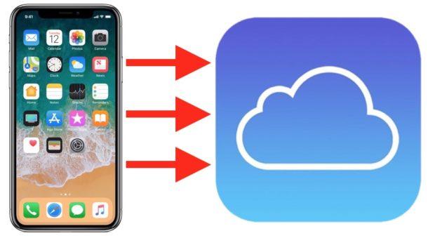 Penyegerakan data dalam iCloud