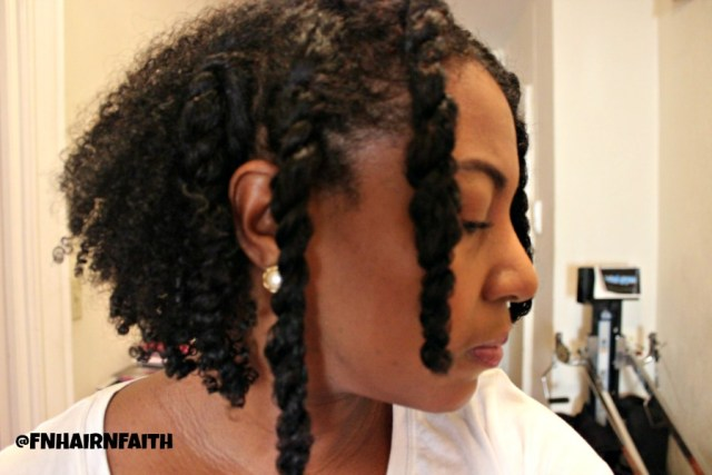 wash and go with twists