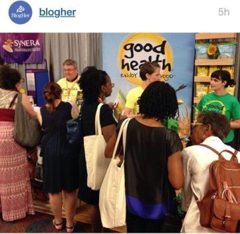 blogher15 good health display