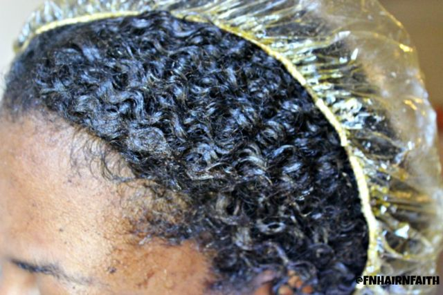 henna gloss in fine natural hair