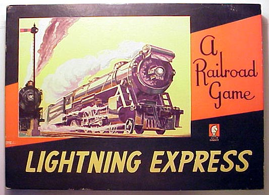 Lightning Express: A Railroad Game